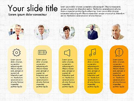 Team Roles Presentation Concept, Slide 8, 03229, Presentation Templates — PoweredTemplate.com