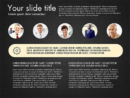 Team Roles Presentation Concept, Slide 9, 03229, Presentation Templates — PoweredTemplate.com