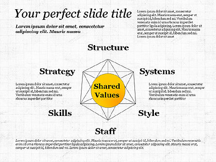 Shared Value Diagram, 03232, Business Models — PoweredTemplate.com