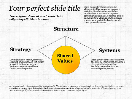 Shared Value Diagram, Slide 6, 03232, Business Models — PoweredTemplate.com
