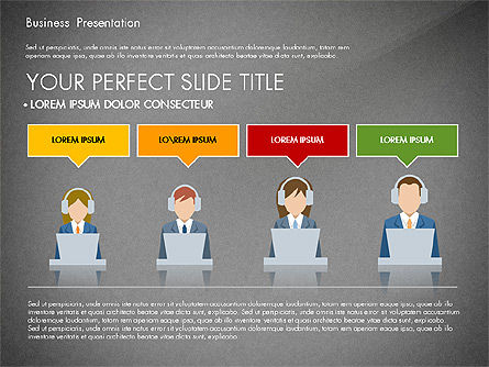Online Course Presentation Concept, Slide 10, 03233, Education Charts and Diagrams — PoweredTemplate.com