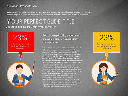Online Course Presentation Concept, Slide 11, 03233, Education Charts and Diagrams — PoweredTemplate.com