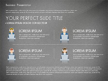 Online Course Presentation Concept, Slide 12, 03233, Education Charts and Diagrams — PoweredTemplate.com