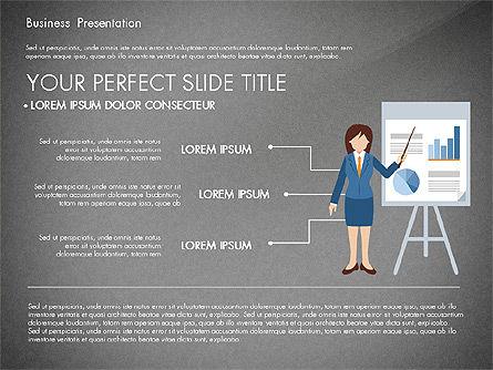 Online Course Presentation Concept, Slide 13, 03233, Education Charts and Diagrams — PoweredTemplate.com