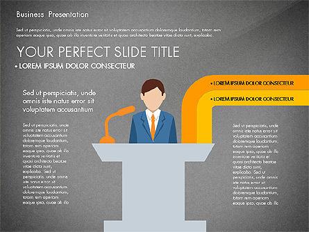 Online Course Presentation Concept, Slide 15, 03233, Education Charts and Diagrams — PoweredTemplate.com