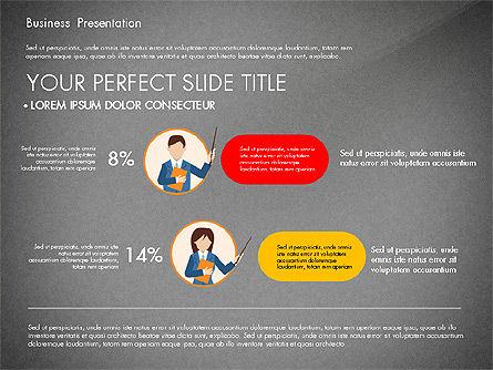 Online Course Presentation Concept, Slide 16, 03233, Education Charts and Diagrams — PoweredTemplate.com