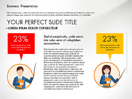 Online Course Presentation Concept, Slide 3, 03233, Education Charts and Diagrams — PoweredTemplate.com