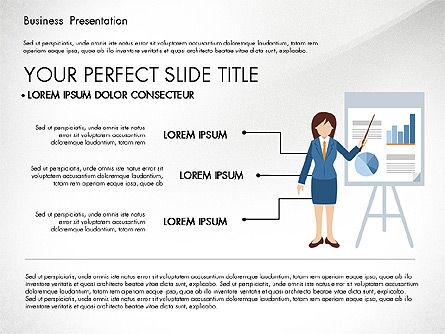Online Course Presentation Concept, Slide 5, 03233, Education Charts and Diagrams — PoweredTemplate.com