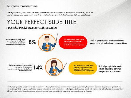 Online Course Presentation Concept, Slide 8, 03233, Education Charts and Diagrams — PoweredTemplate.com