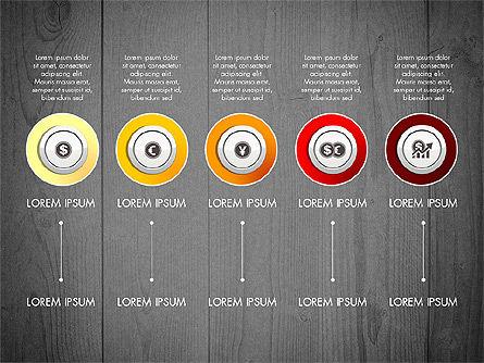 Startup Timeline Concept Diagram, Slide 10, 03234, Timelines & Calendars — PoweredTemplate.com