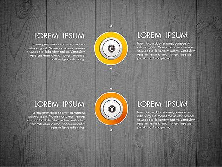 Startup Timeline Concept Diagram, Slide 12, 03234, Timelines & Calendars — PoweredTemplate.com