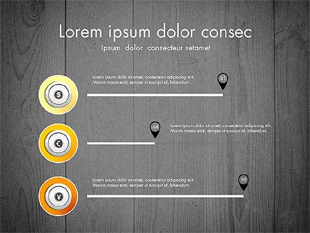 Startup Timeline Concept Diagram, Slide 15, 03234, Timelines & Calendars — PoweredTemplate.com