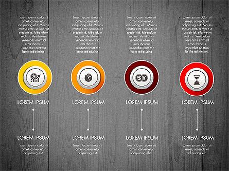 Startup Timeline Concept Diagram, Slide 16, 03234, Timelines & Calendars — PoweredTemplate.com