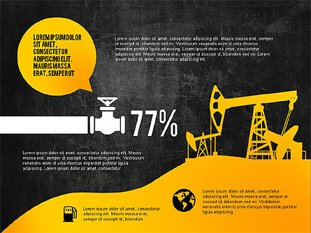 Oil and Gas Production Infographics, Slide 10, 03235, Infographics — PoweredTemplate.com