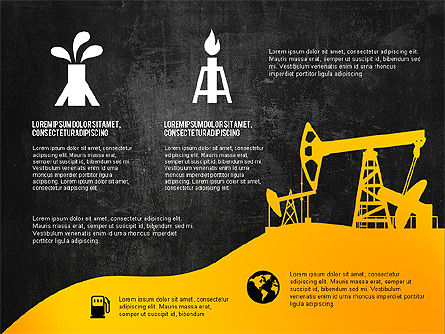Oil and Gas Production Infographics, Slide 12, 03235, Infographics — PoweredTemplate.com