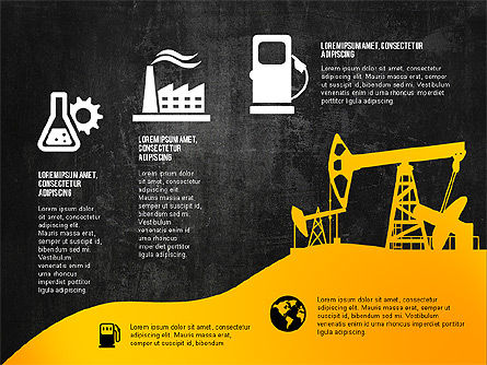 Oil and Gas Production Infographics, Slide 15, 03235, Infographics — PoweredTemplate.com