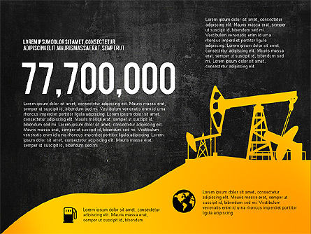 Oil and Gas Production Infographics, Slide 16, 03235, Infographics — PoweredTemplate.com