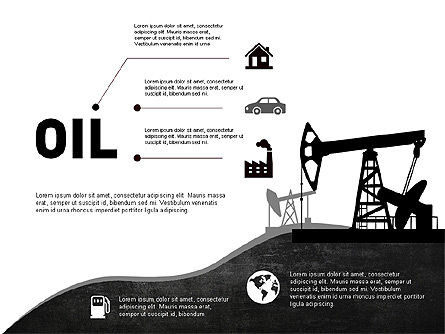 Oil and Gas Production Infographics, Slide 3, 03235, Infographics — PoweredTemplate.com