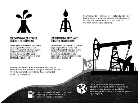 Oil and Gas Production Infographics, Slide 4, 03235, Infographics — PoweredTemplate.com