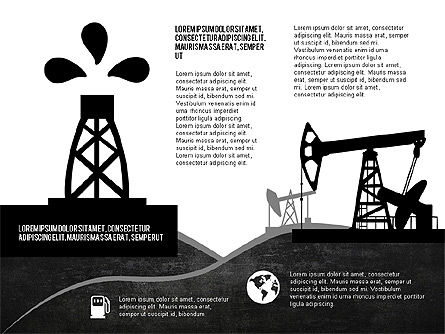 Oil and Gas Production Infographics, Slide 5, 03235, Infographics — PoweredTemplate.com