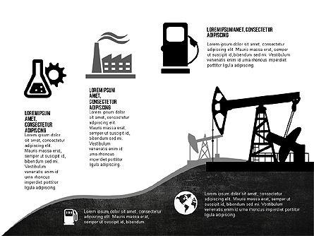 Oil and Gas Production Infographics, Slide 7, 03235, Infographics — PoweredTemplate.com