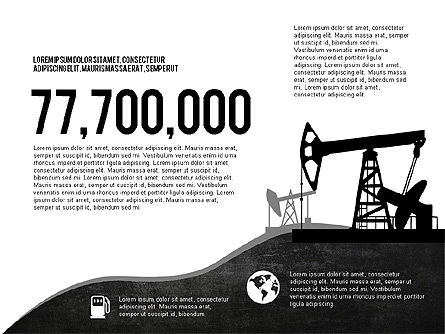 Oil and Gas Production Infographics, Slide 8, 03235, Infographics — PoweredTemplate.com