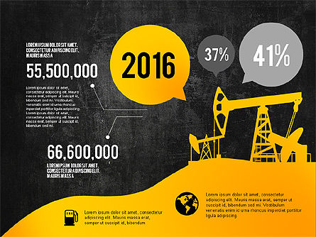 Oil and Gas Production Infographics, Slide 9, 03235, Infographics — PoweredTemplate.com