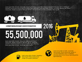 Oil and Gas Production Infographics#14