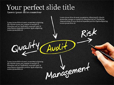 Internal Audit Diagram, Slide 10, 03236, Business Models — PoweredTemplate.com