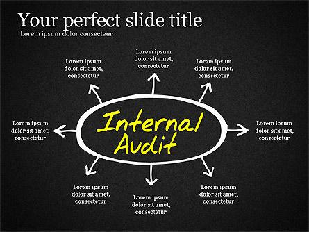 Internal Audit Diagram, Slide 11, 03236, Business Models — PoweredTemplate.com
