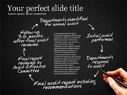Internal Audit Diagram, Slide 13, 03236, Business Models — PoweredTemplate.com