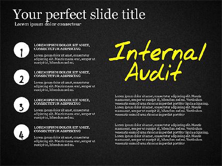 Internal Audit Diagram, Slide 16, 03236, Business Models — PoweredTemplate.com
