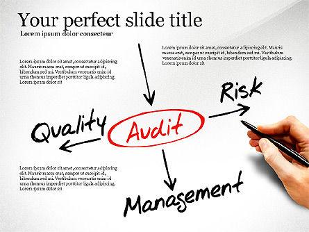 Internal Audit Diagram, Slide 2, 03236, Business Models — PoweredTemplate.com
