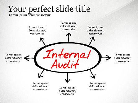 Internal Audit Diagram, Slide 3, 03236, Business Models — PoweredTemplate.com