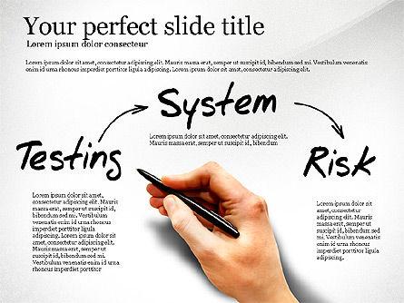 Internal Audit Diagram, Slide 4, 03236, Business Models — PoweredTemplate.com