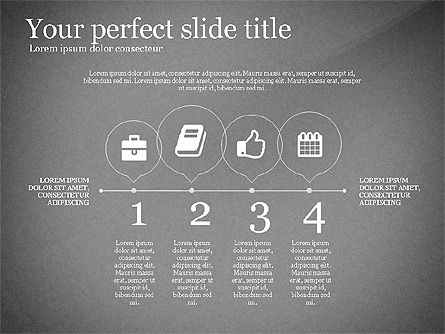Icons Process and Timeline Toolbox, Slide 10, 03237, Icons — PoweredTemplate.com