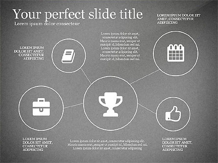 Icons Process and Timeline Toolbox, Slide 13, 03237, Icons — PoweredTemplate.com
