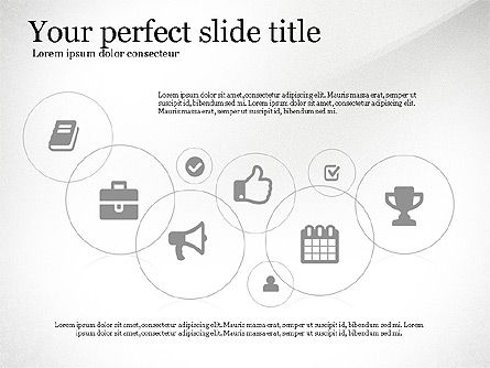 Icons Process and Timeline Toolbox, Slide 3, 03237, Icons — PoweredTemplate.com