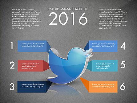 Twitter Infographics, Slide 11, 03238, Infographics — PoweredTemplate.com