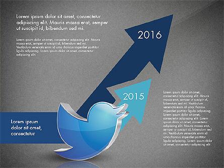 Twitter Infographics, Slide 12, 03238, Infographics — PoweredTemplate.com
