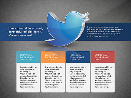 Twitter Infographics, Slide 13, 03238, Infographics — PoweredTemplate.com