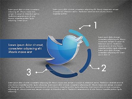 Twitter Infographics, Slide 14, 03238, Infographics — PoweredTemplate.com