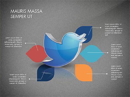 Twitter Infographics, Slide 15, 03238, Infographics — PoweredTemplate.com