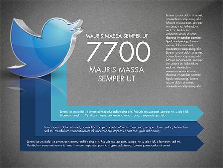 Twitter Infographics, Slide 16, 03238, Infographics — PoweredTemplate.com