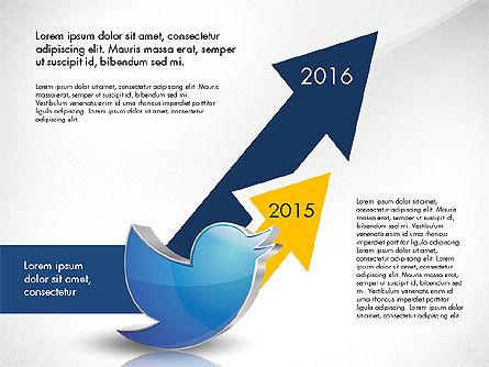 Twitter Infographics Slide 4