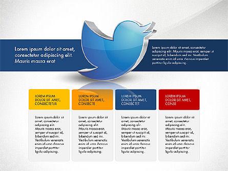 Twitter Infographics, Slide 5, 03238, Infographics — PoweredTemplate.com