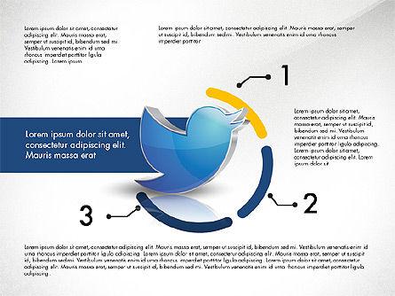 Twitter Infographics, Slide 6, 03238, Infographics — PoweredTemplate.com