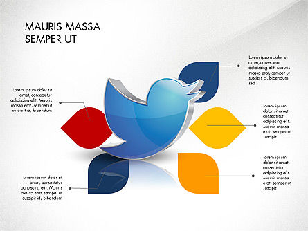 Twitter Infographics, Slide 7, 03238, Infographics — PoweredTemplate.com