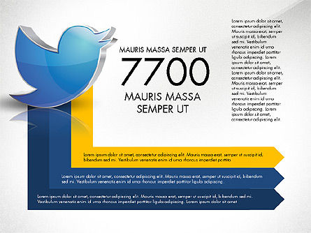 Twitter Infographics, Slide 8, 03238, Infographics — PoweredTemplate.com