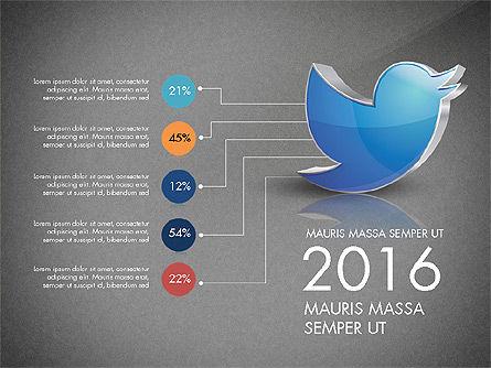 Twitter Infographics, Slide 9, 03238, Infographics — PoweredTemplate.com